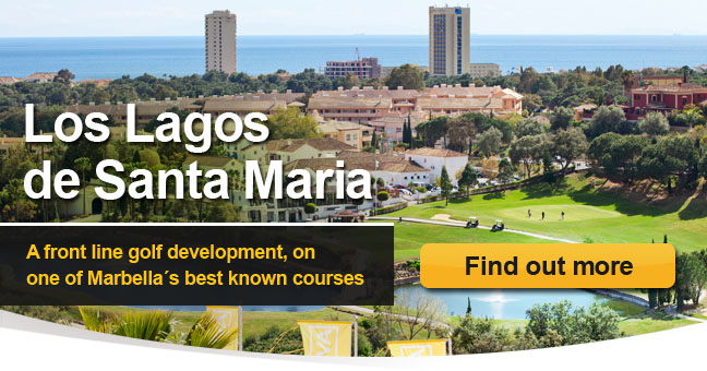 Los Lagos de Santa Maria - A front line golf development, on one of Marbella?s best known courses